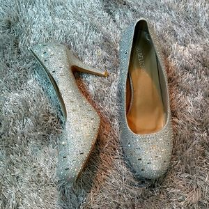 Jeweled Pump Heels